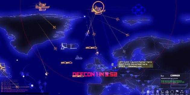Игры про войну: DEFCON