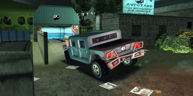 Старые игры на ПК: Grand Theft Auto III
