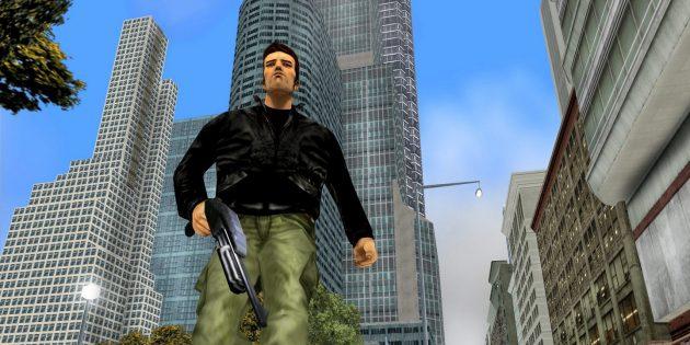 Старые игры на ПК: Угловатые люди из GTA III