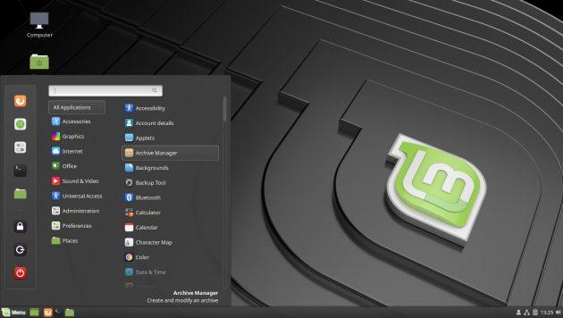 Оптимизируйте рабочий стол Linux: Cinnamon