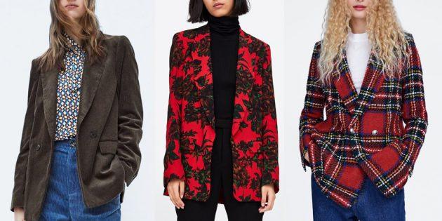 10 модных пиджаков для женщин и мужчин