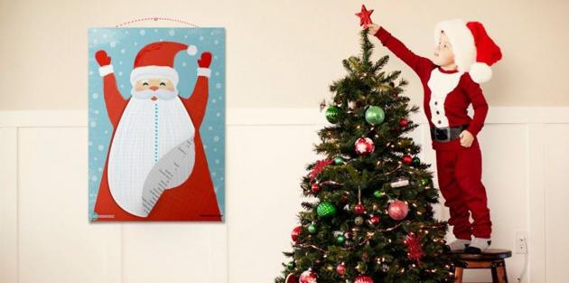 Новогодние украшения: Адвент-календарь