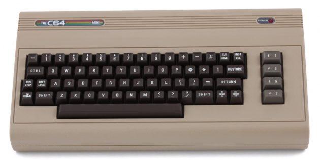 игровая консоль: C64 Mini