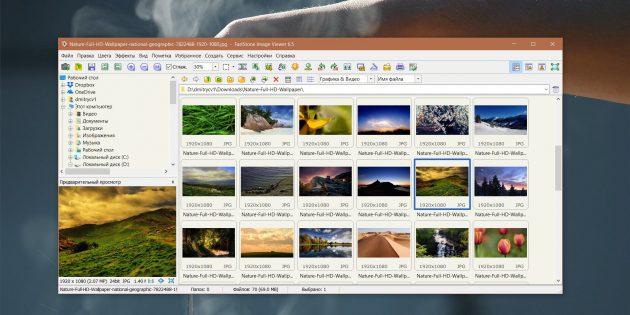 Как организовать коллекцию фотографий: FastStone Image Viewer
