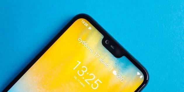 Обзор Nokia 6.1 Plus: Монобровь
