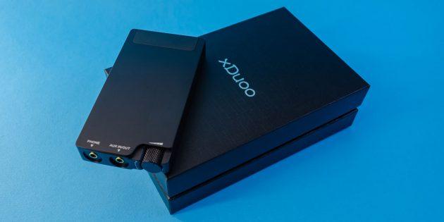 Стоит ли купить Xduoo XP-2: упаковка