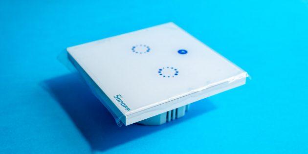 Умный выключатель Sonoff T1: внешний вид
