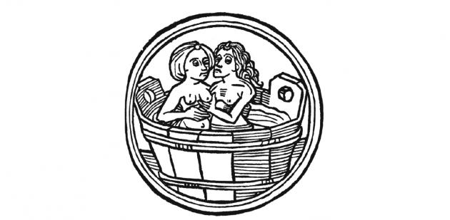 Средневековый рисунок