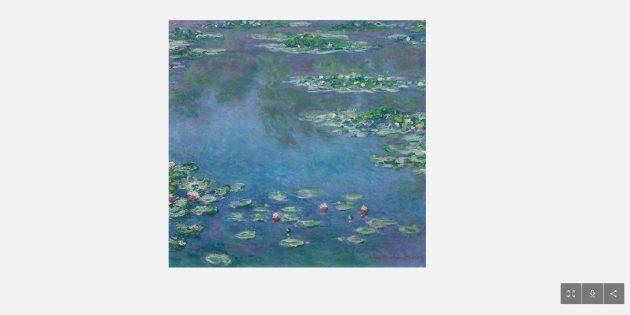Бесплатно скачать картины: «Кувшинки» Клода Моне