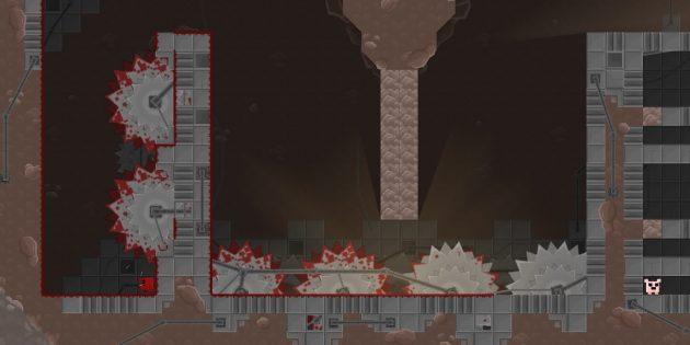 Самые сложные компьютерные игры: Super Meat Boy