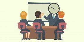 3 совета, которые помогут всегда заканчивать совещания вовремя