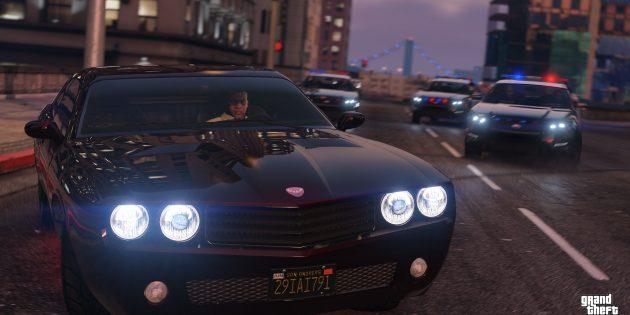 GTA V: отношения с законом