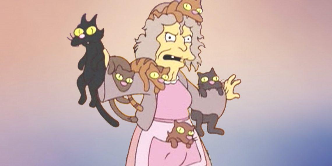 кстати, картинка кошатницы из симпсонов временем рипсалидопсис
