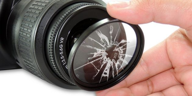 Хранение и чистка объектива: УФ-фильтр
