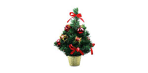 Новогодние украшения: маленькая новогодняя ёлка