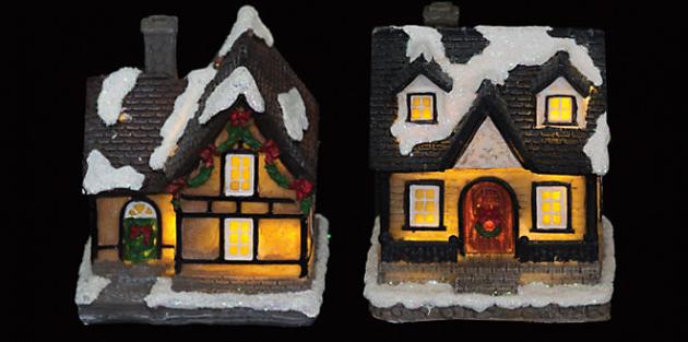 Новогодние украшения: Новогодний светильник