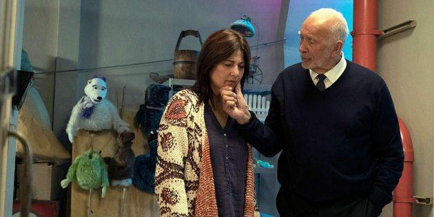 Сериал «Шучу»: Отец и сестра мистера Пиклза
