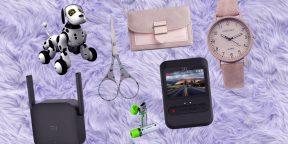 Находки AliExpress: видеорегистратор Xiaomi, собака-робот и набор ножей