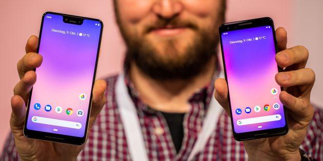 Лучшие Android-смартфоны 2018: Pixel 3/3XL
