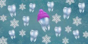 Что нужно знать о здоровье зубов в холодное время года