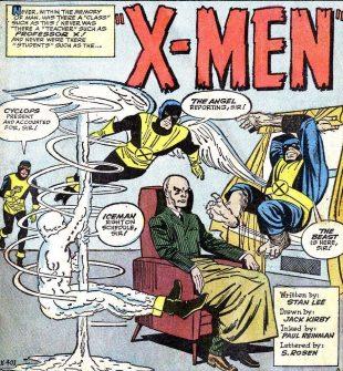 Страница одного из первых выпусков про Людей Икс