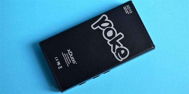 Обзор xDuoo XD-10 Poke: нижняя сторона
