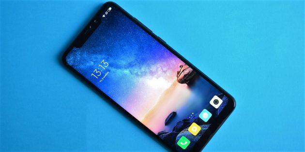 Обзор Xiaomi Redmi Note 6 Pro: Дизайн