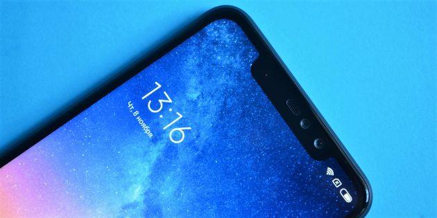 Обзор Xiaomi Redmi Note 6 Pro: Экран