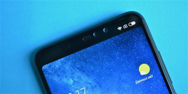 Обзор Xiaomi Redmi Note 6 Pro: Рамки и чёлка