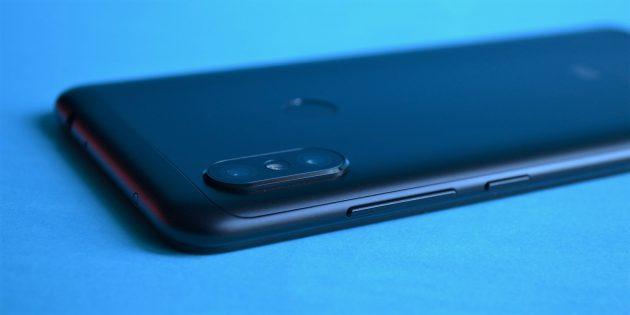 Обзор Xiaomi Redmi Note 6 Pro: Кнопки