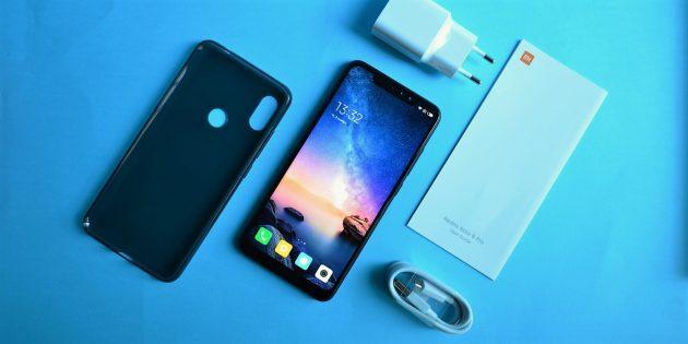 Обзор Xiaomi Redmi Note 6 Pro: Комплектация