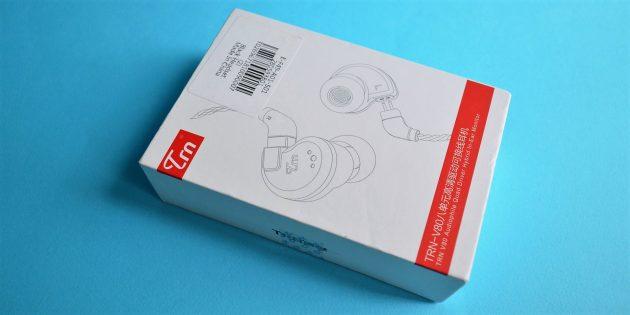 Обзор TRN v80: Коробка