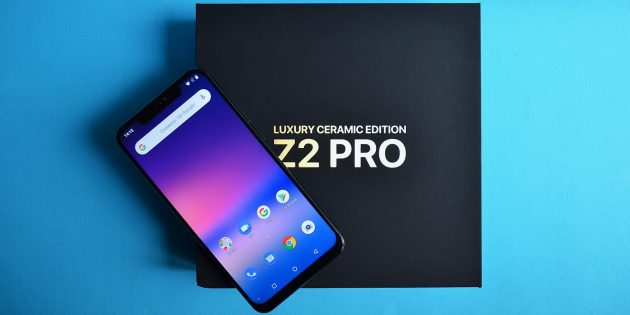 UMIDIGI Z2 Pro: коробка