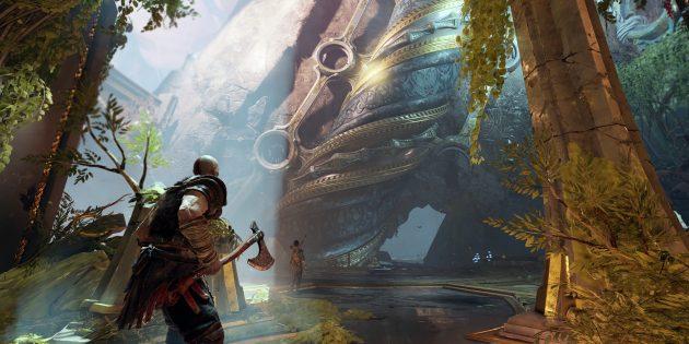 Лучшие игры по версии Time: God of War