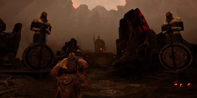 Игры про викингов: God of War