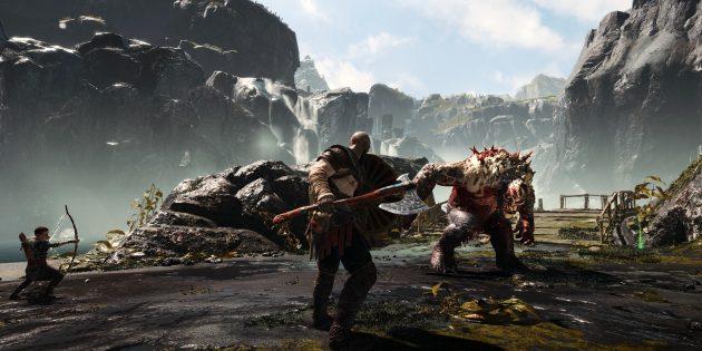 Топ лучших игр 2018года: God of War
