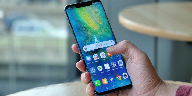 Лучшие Android-смартфоны 2018: Huawei Mate 20Pro