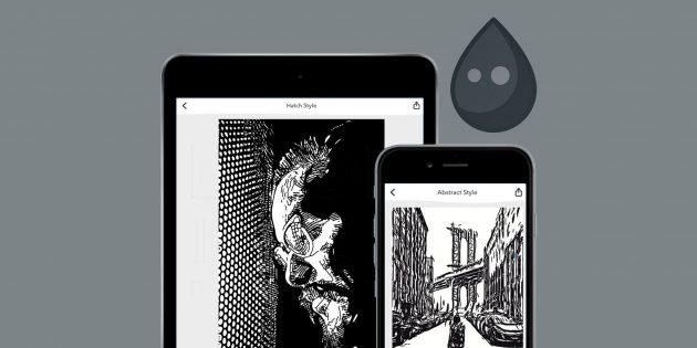 Inkwork для iOS превращает фотографии в арт-объекты
