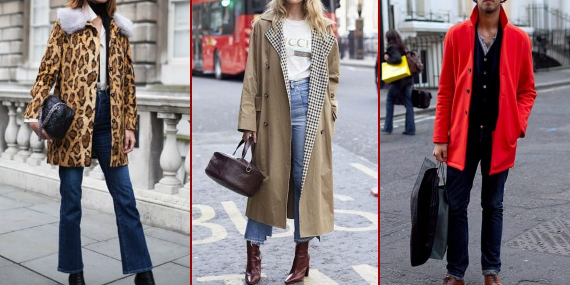 С чем носить джинсы осенью и зимой, чтобы быть модным