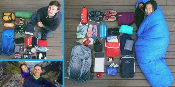 Как подготовиться к кругосветному путешествию с одним рюкзаком