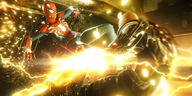 Топ лучших игр 2018года: Marvel's Spider-Man