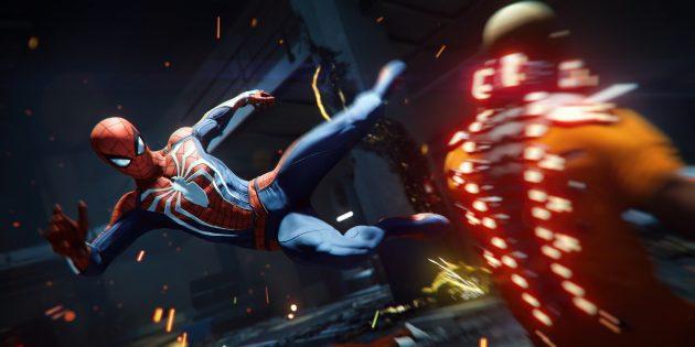 Лучшие игры по версии Time: Spider-Man