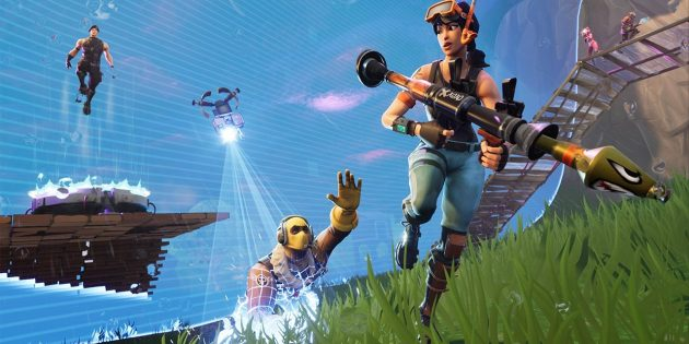 Игры на Nintendo Switch: Fortnite