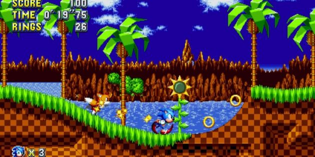 Игры на Nintendo Switch: Sonic Mania Plus