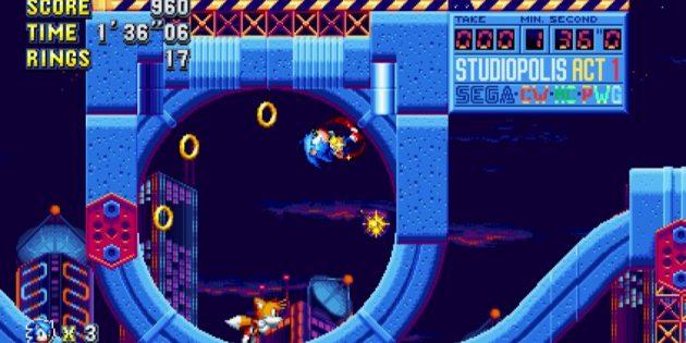 Игры на Nintendo Switch: Sonic Mania Plus