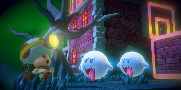 Игры на Nintendo Switch: Captain Toad