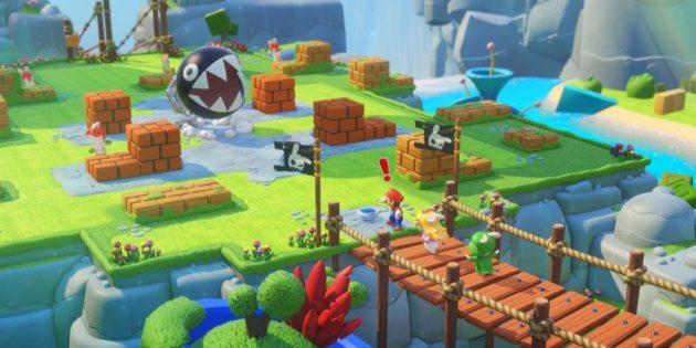Игры на Nintendo Switch: Mario + Rabbids Kingdom Battle