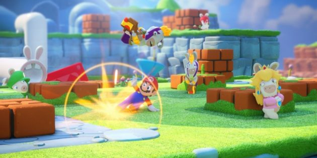 Игры на Nintendo Switch: Mario + Rabbids Kingdom Battle