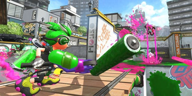 Игры на Nintendo Switch: Splatoon 2