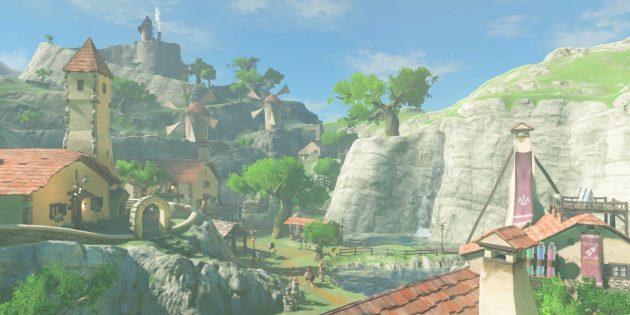 Игры на Nintendo Switch: Breath of the Wild